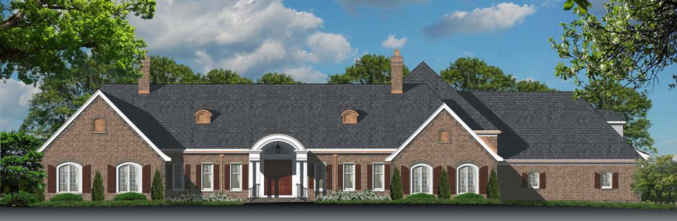 sample color elevation design of house elevation 2d - 2d House Elevation Designs In